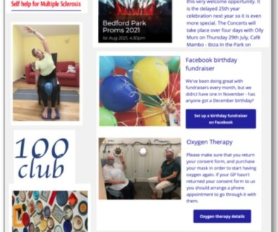 MS Therapy Centre Newsletter